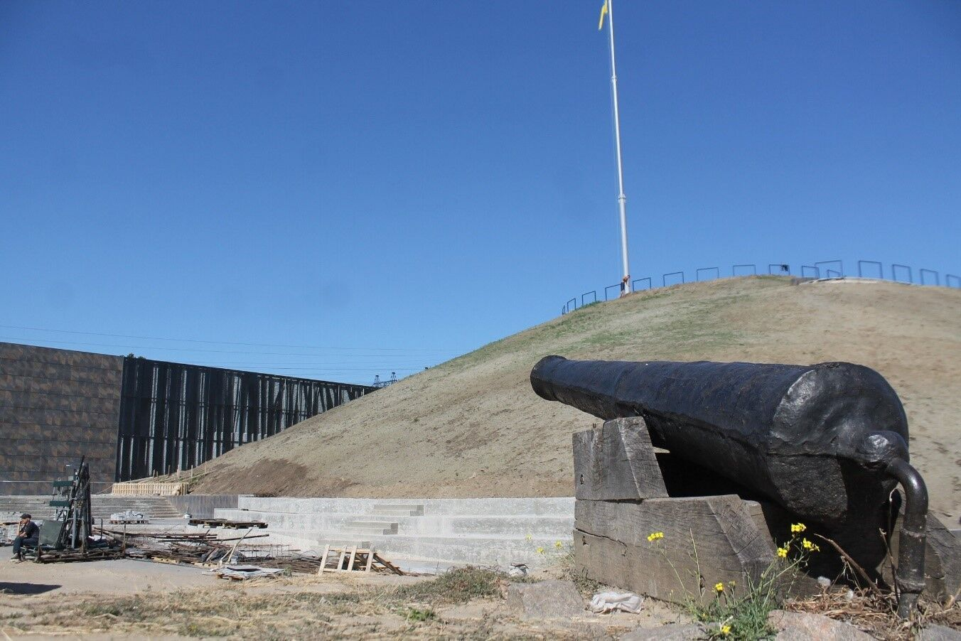 Масштабна реконструкція охопила аварійний Музей історії козацтва і локації просто неба