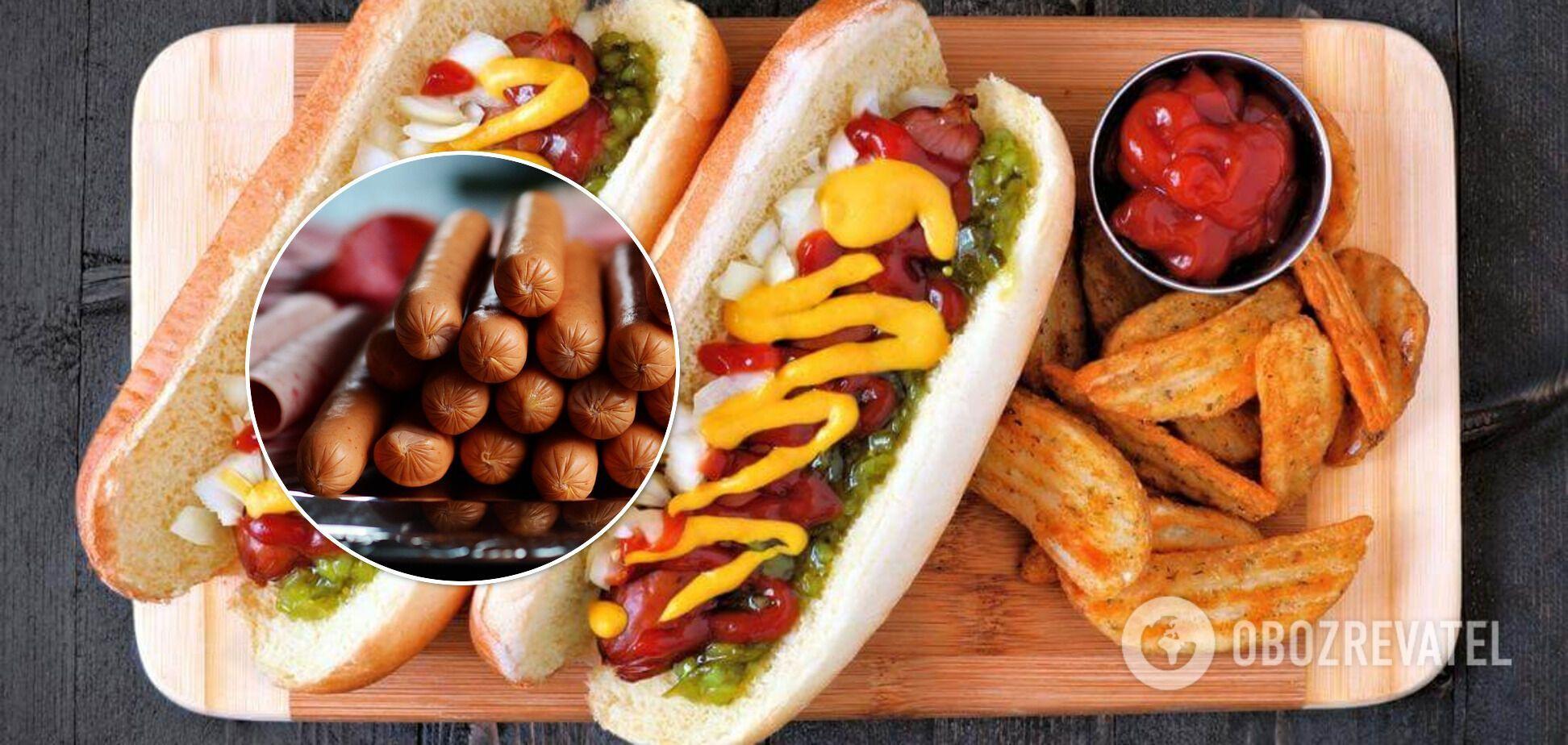 Варіанти начинок для хот-дога