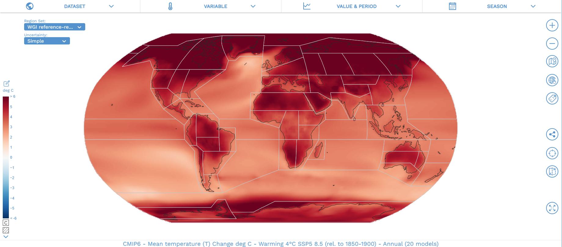 Через два десятиліття температура на планеті може підвищитися на 3°C.