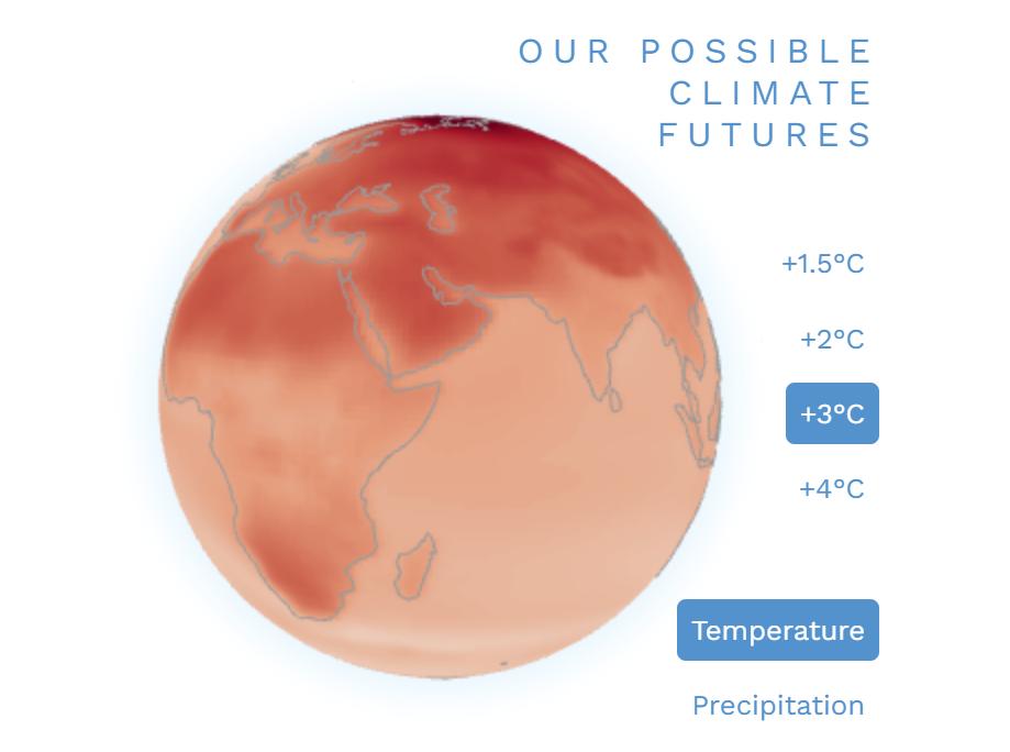 IPCC презентували інтерактивний атлас для всіх охочих ознайомитися з екологічною ситуацією на планеті