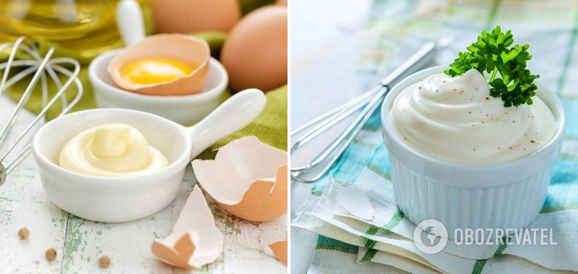 Домашній майонез на основі яєць