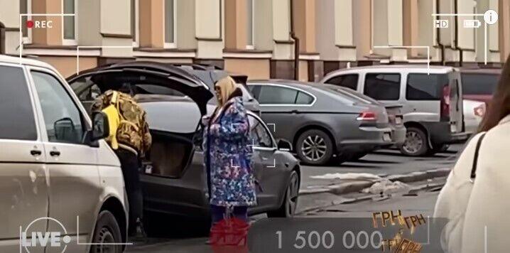 Машина Ирины Билык