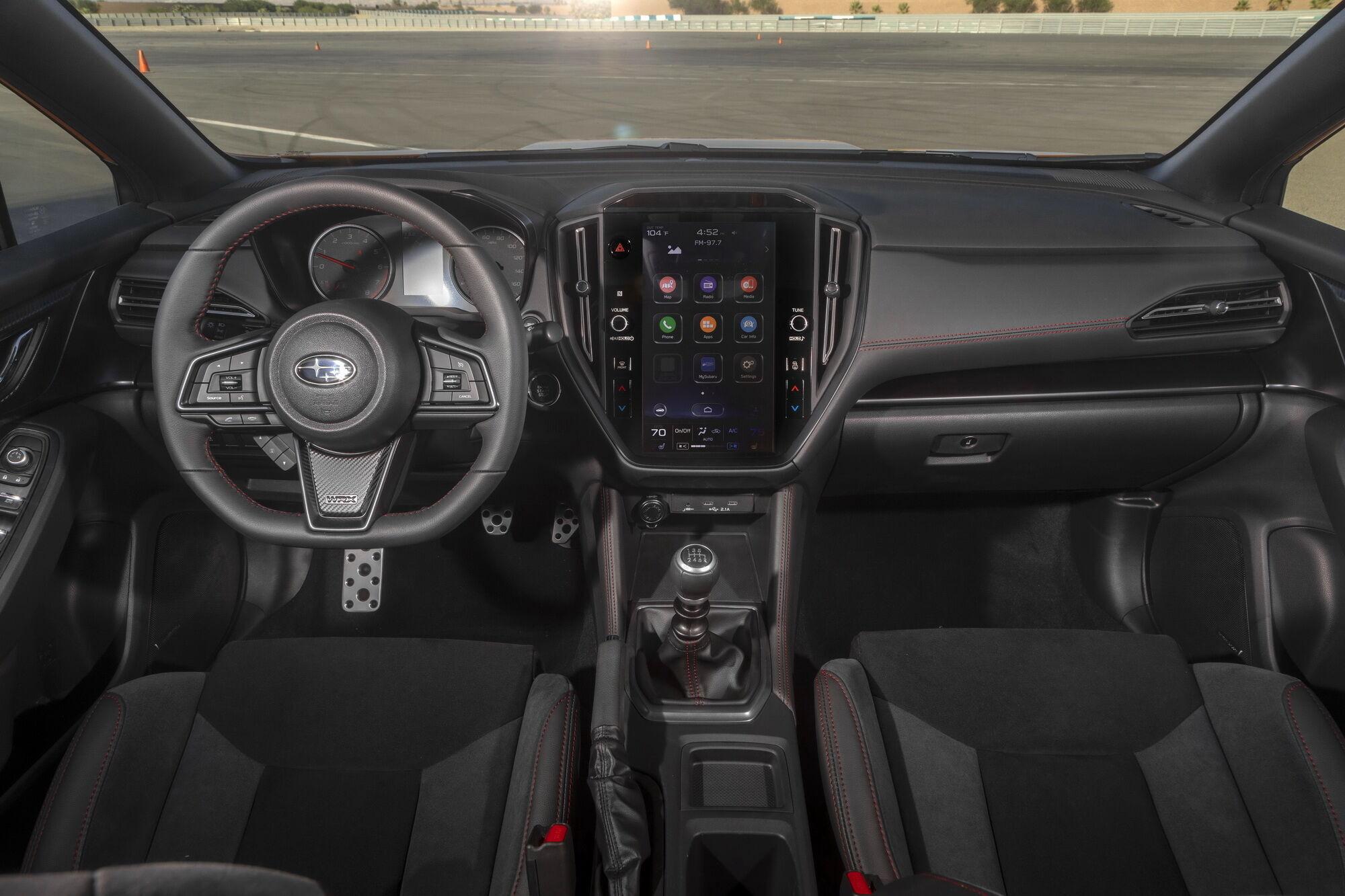 У салоні з`явилась нова мультимедійна система Subaru Starlink з 11,6-дюймовим сенсорним дисплеєм