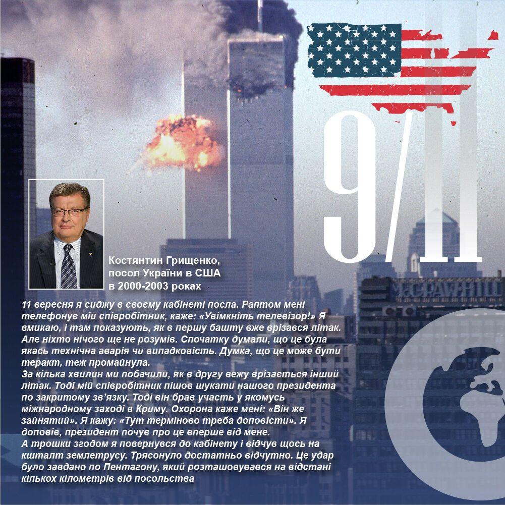 Грищенко первым сообщил президент Украины Леонид Кучма о теракте.