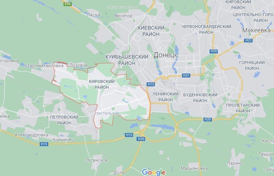 Кіровський район Донецька.