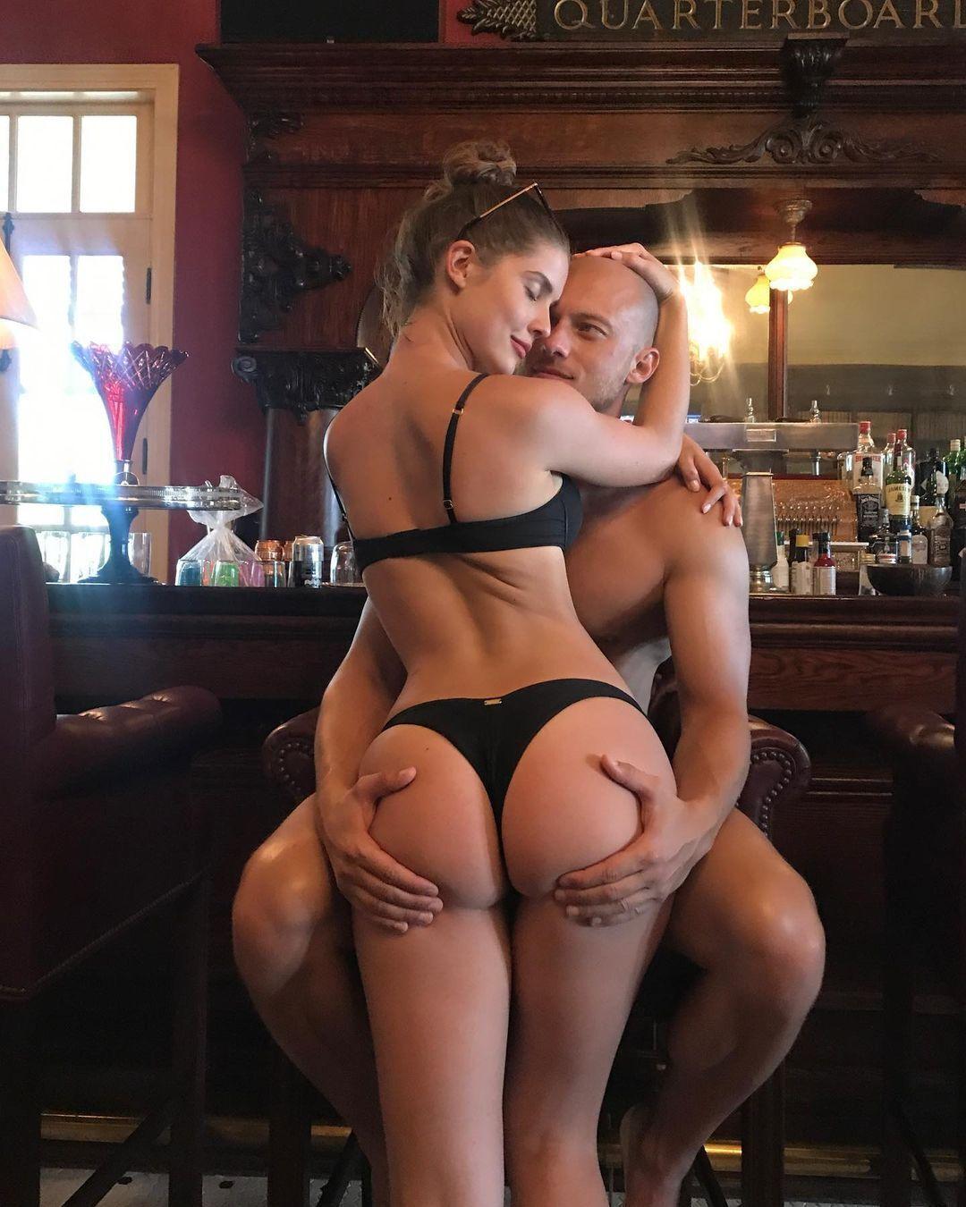 Аманда Черни с мужем