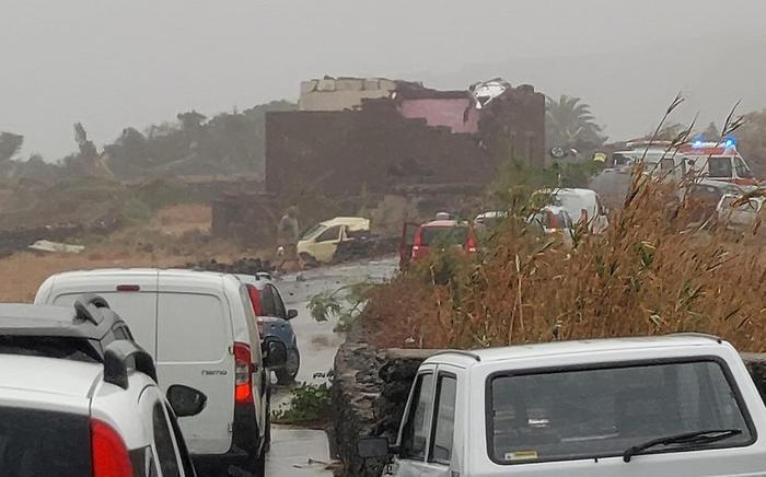 Торнадо на Пантеллерии.