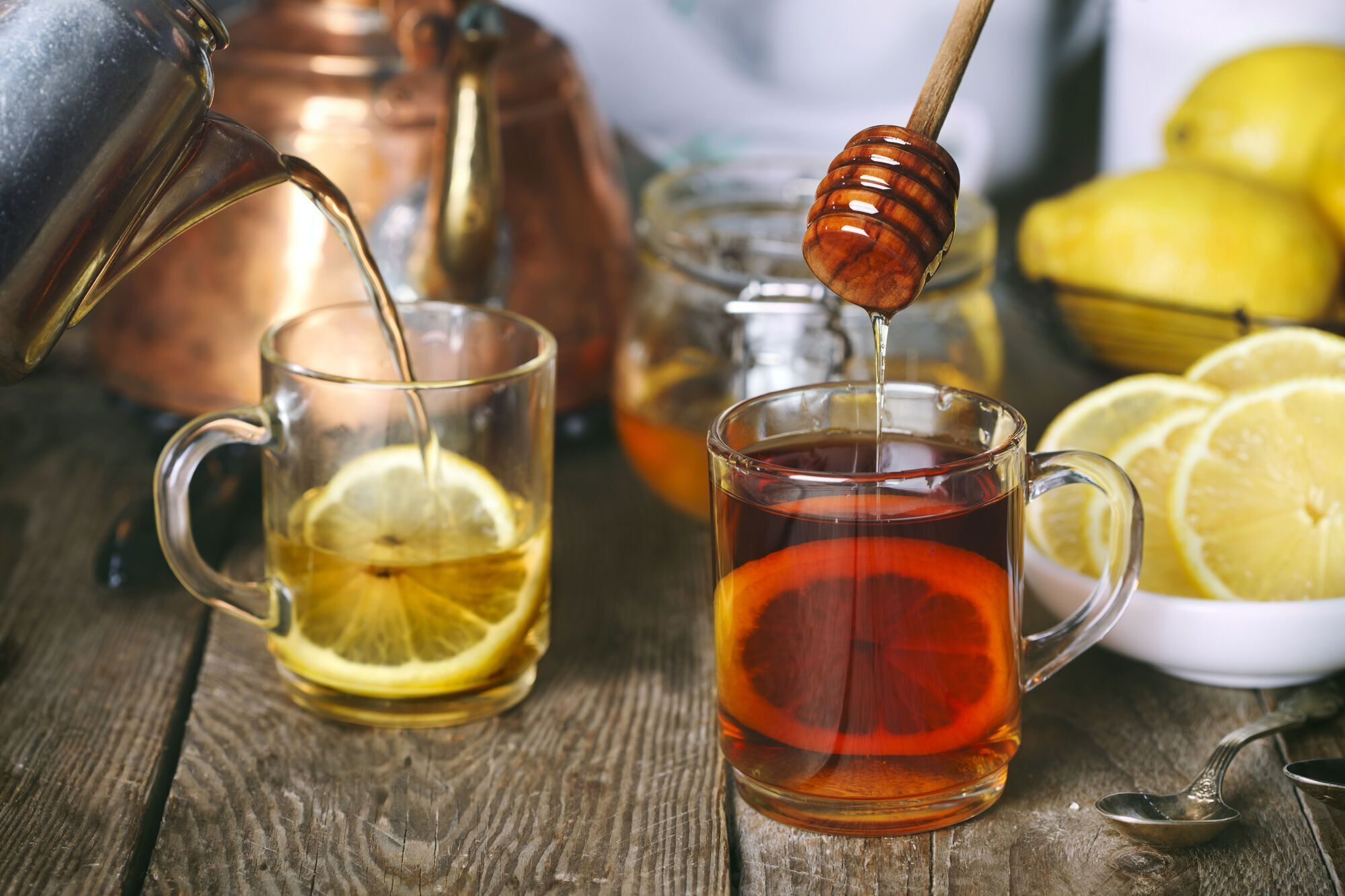 Чай с чесноком и медом