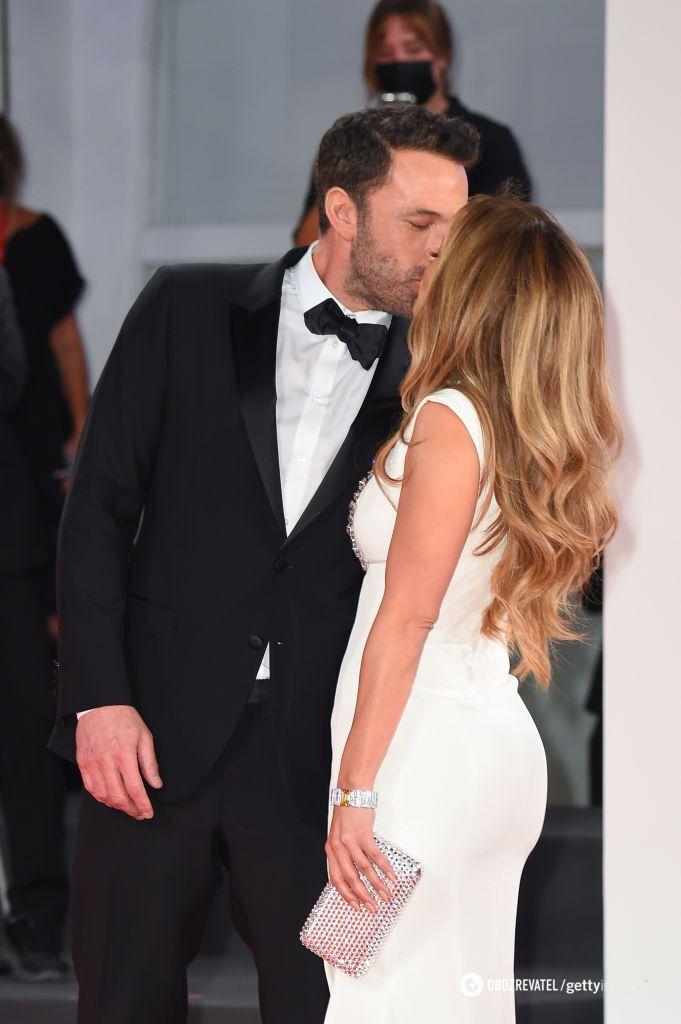 Бен Аффлек и Дженнифер Лопес на Венецианском кинофестивале
