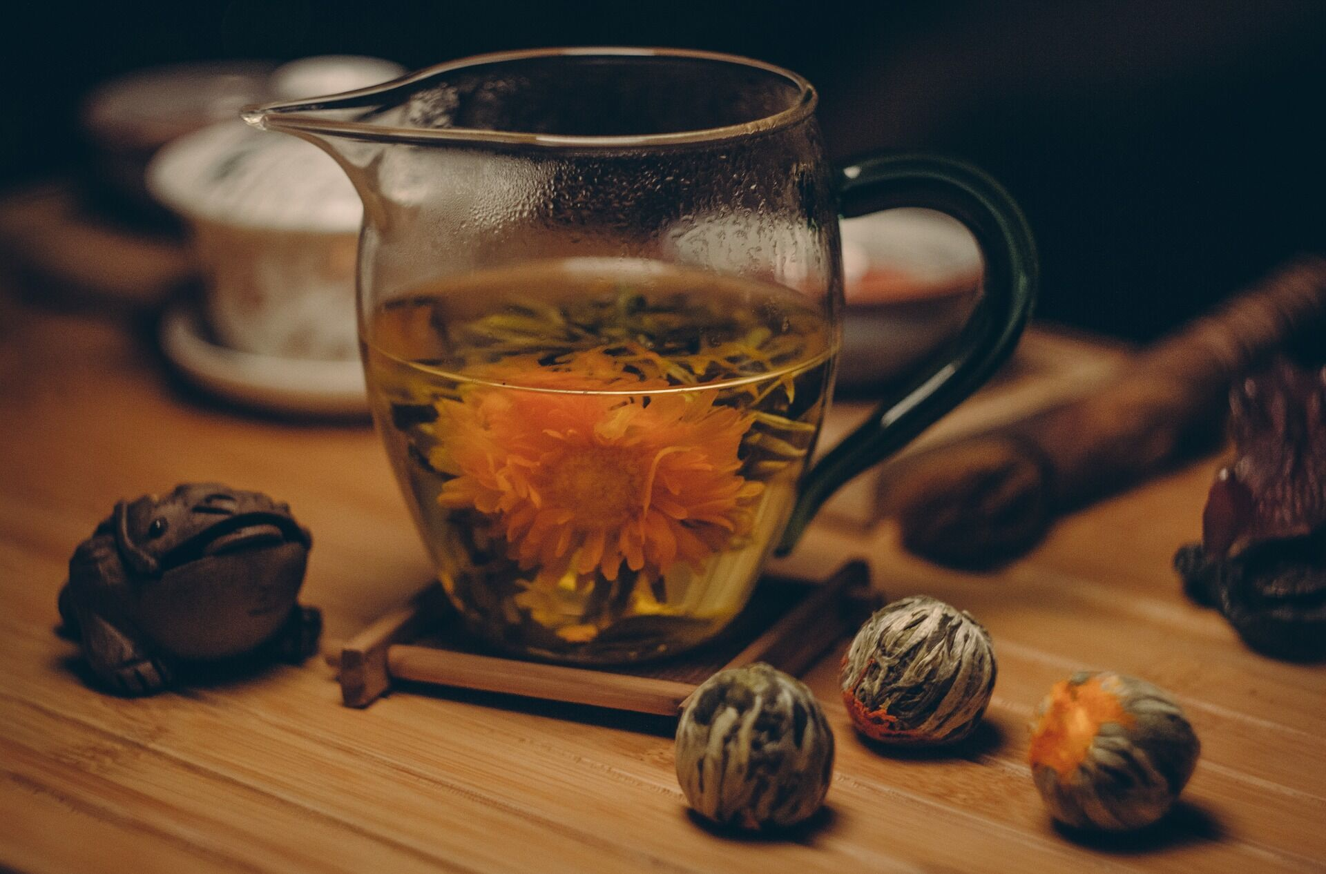 Полезный цветочный чай