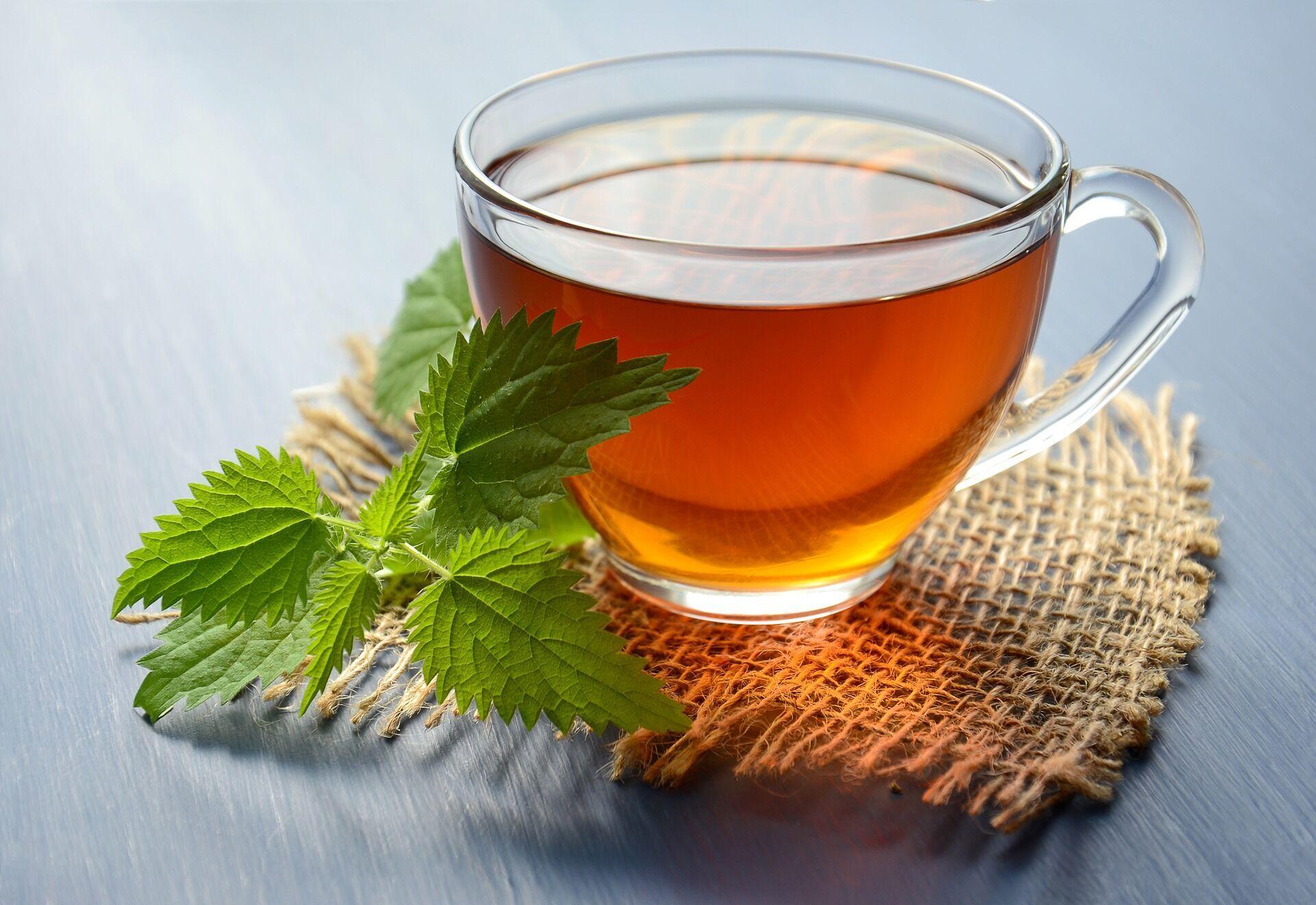Чай с кропивой