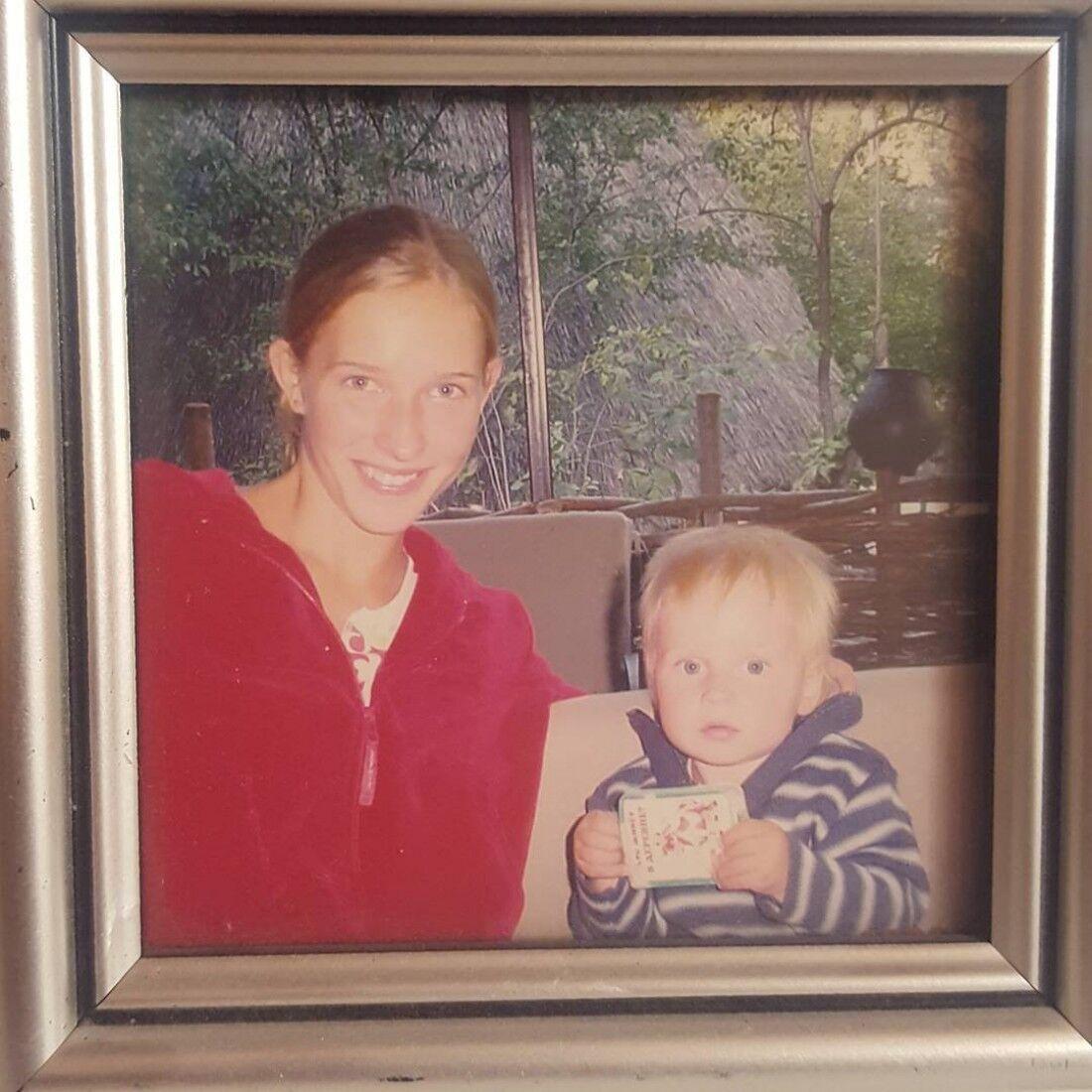 Катя Осадча та її перший син Ілля