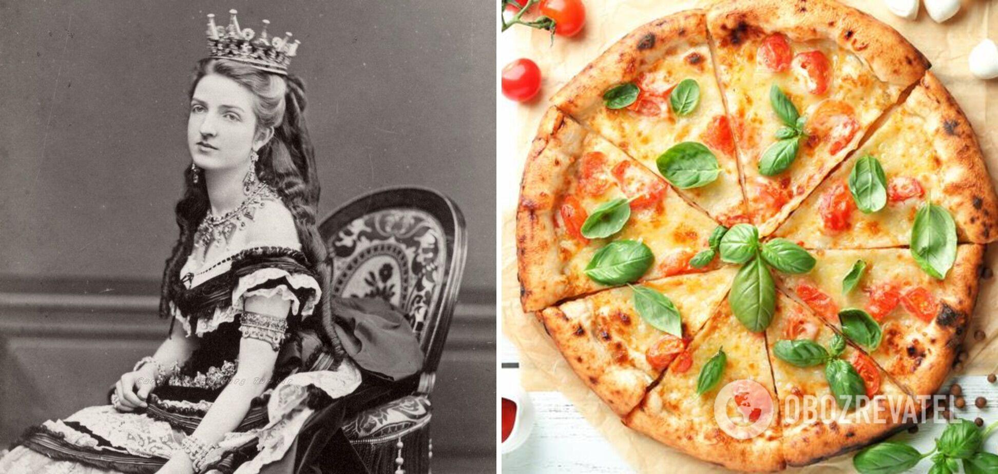 Піца Маргарита в честь італійської королеви