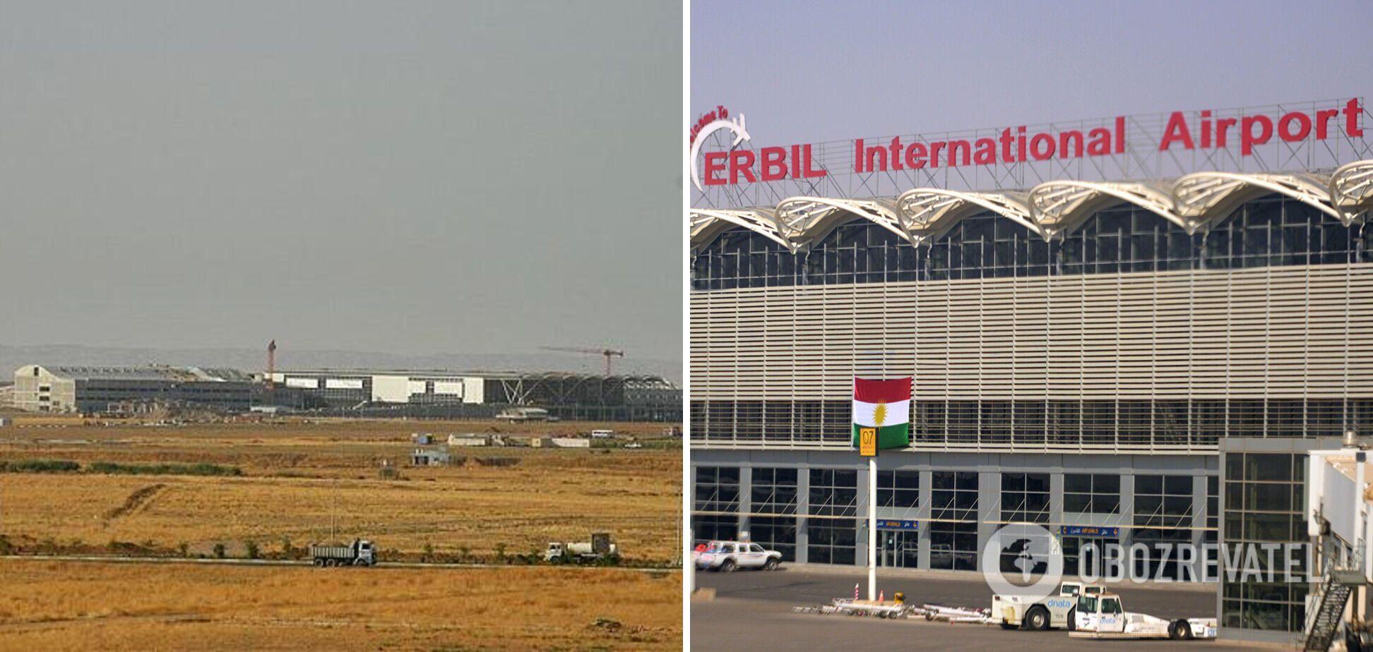 Аеропорт в Ербілі.