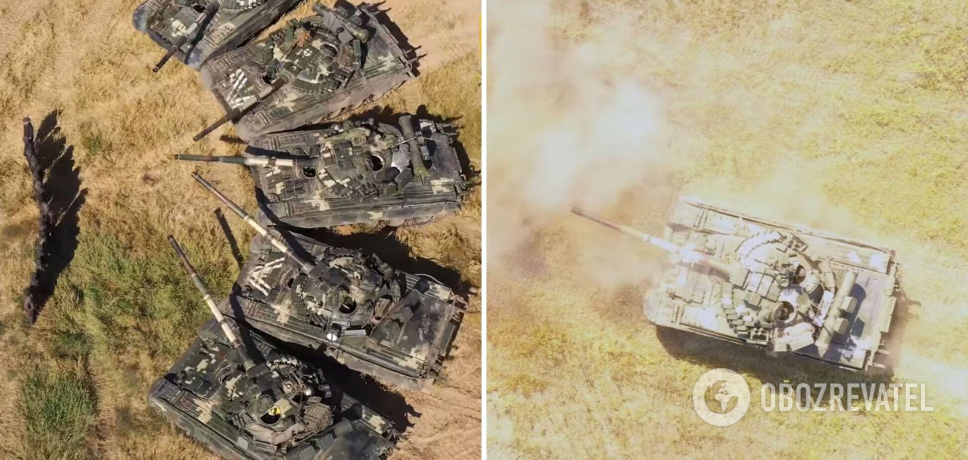 Українські танки.