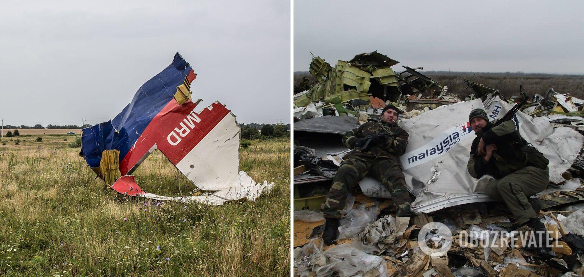 Boeing 777 сбили террористы на Донбассе.