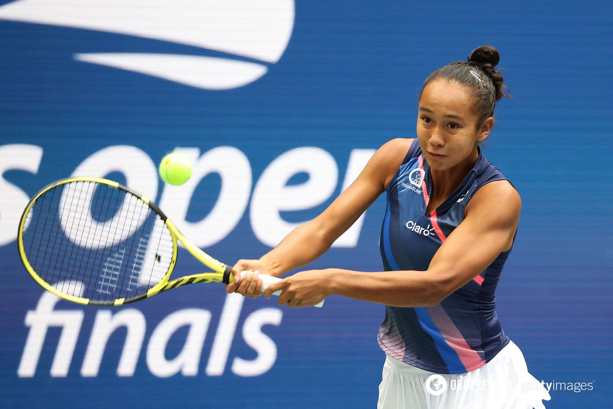 Фернандес в четвертьфинале победила Свитолину
