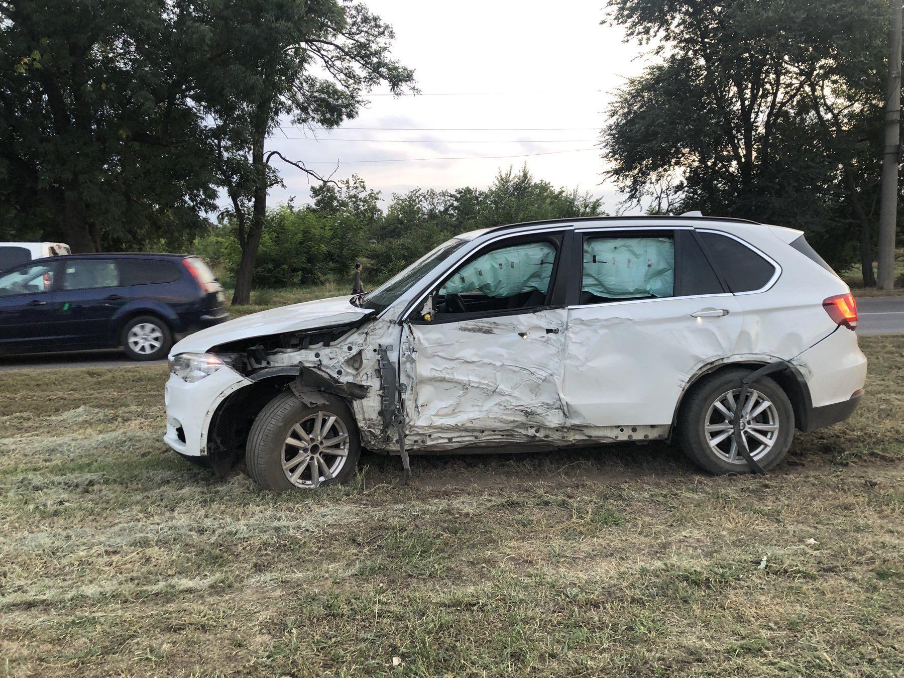 Авто BMW Х5 після ДТП
