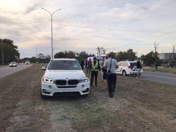 BMW Х5, на якому їхав депутат