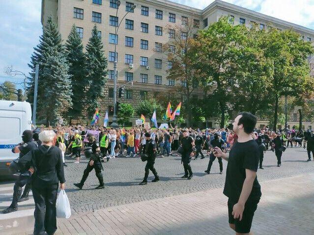 ЛГБТ-марш в Харькове