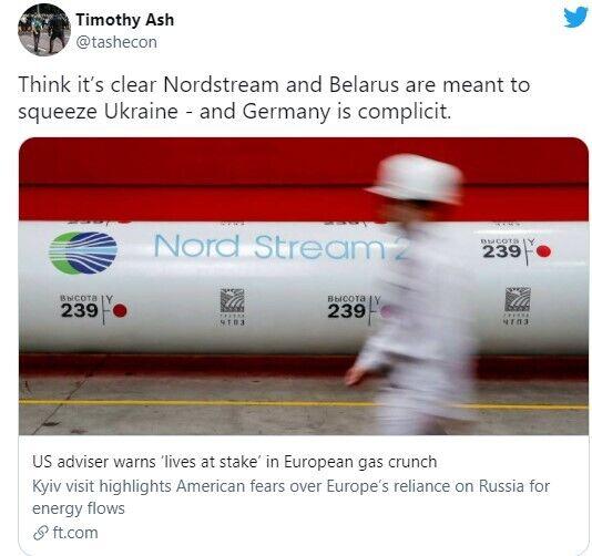 """""""Северный поток-2"""" и Беларусь хотят нанести удар Украине, считает эксперт"""
