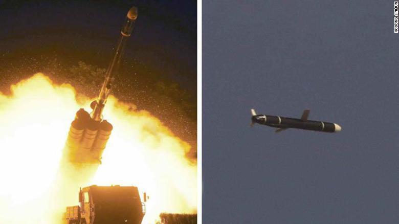 Испытательный пуск крылатой ракеты 11 или 12 сентября.