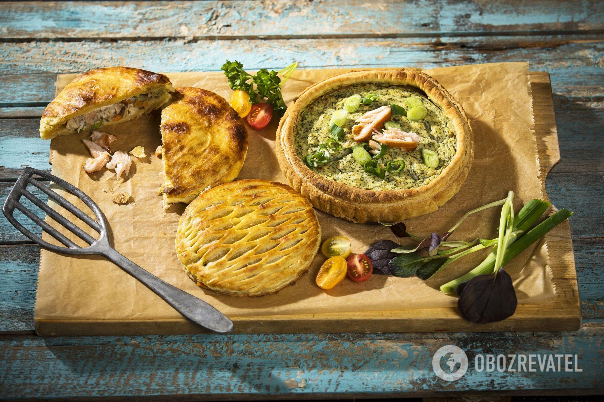 Пироги з морепродуктами