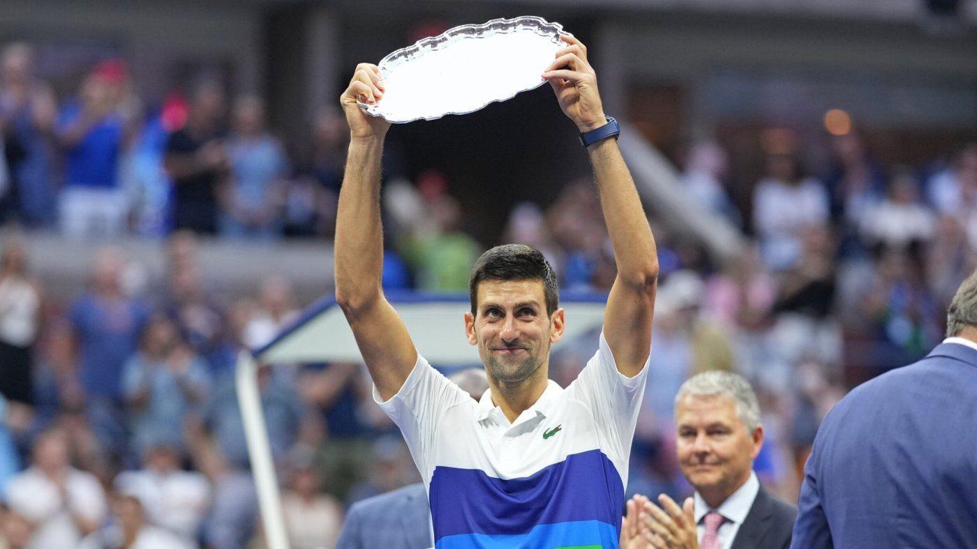 Джокович получил титул за второе месте