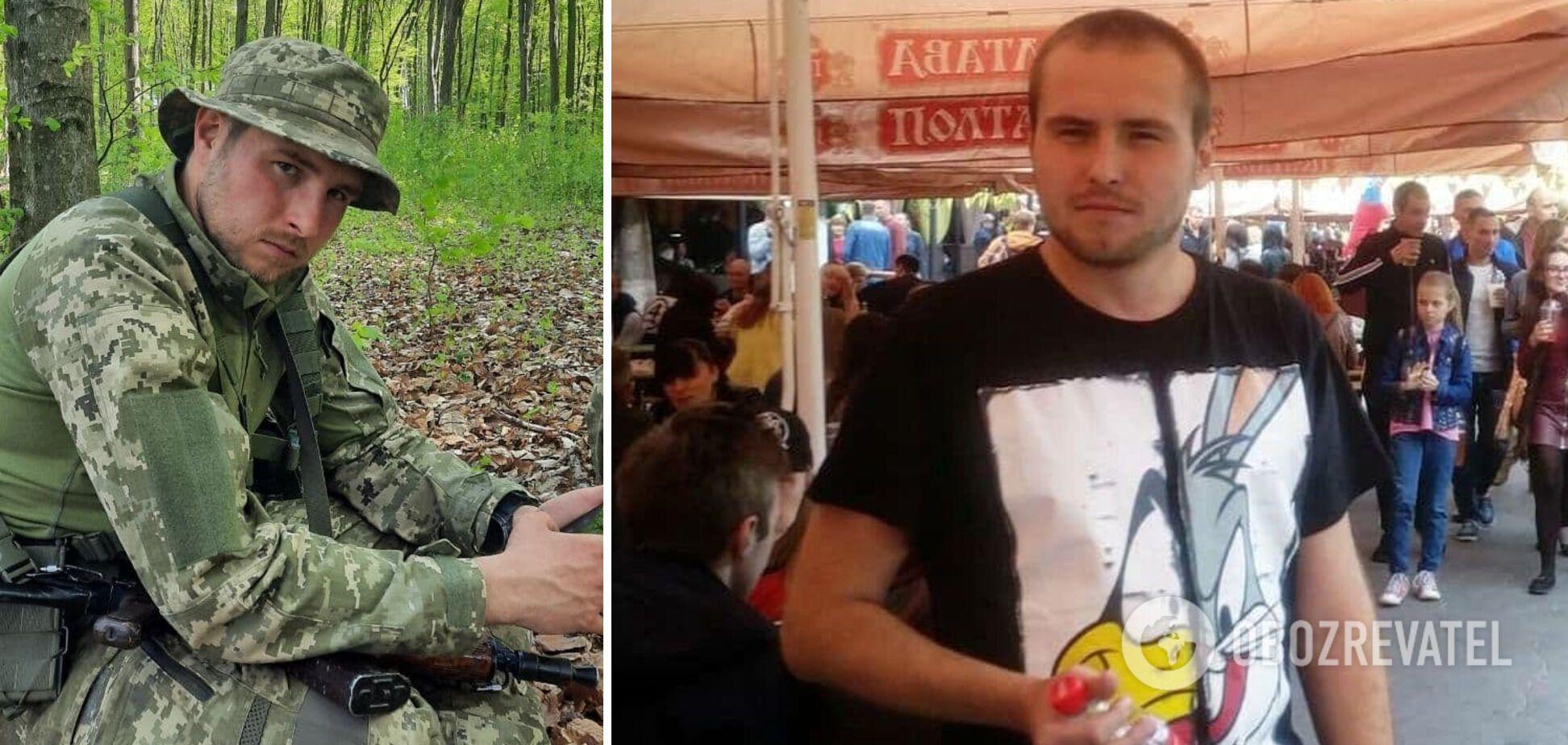 На Донбассе погиб солдат Денис Герман