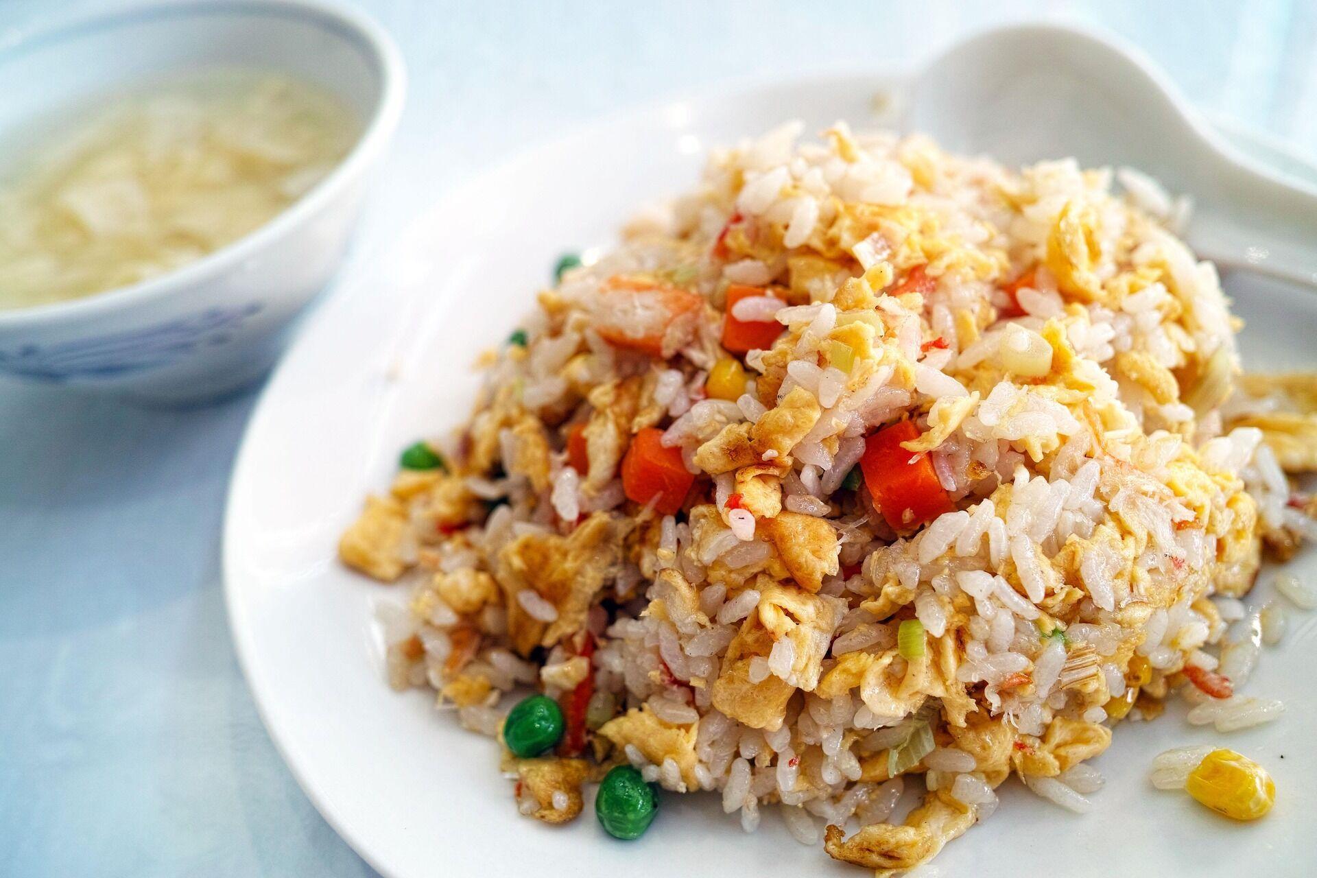 Рис можно хранить 1 час при комнатной температуре