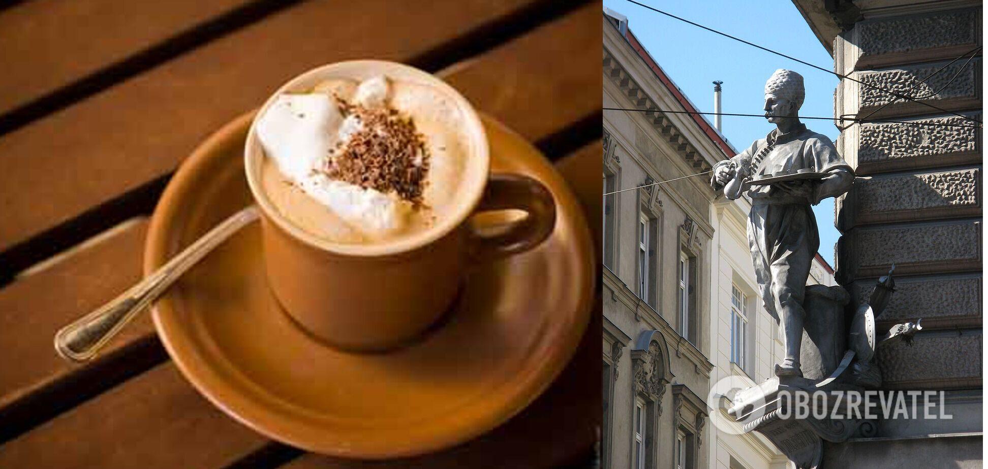 Кофе по-венски и памятник Юрию Кульчицкому, спасителю австрийской столицы.