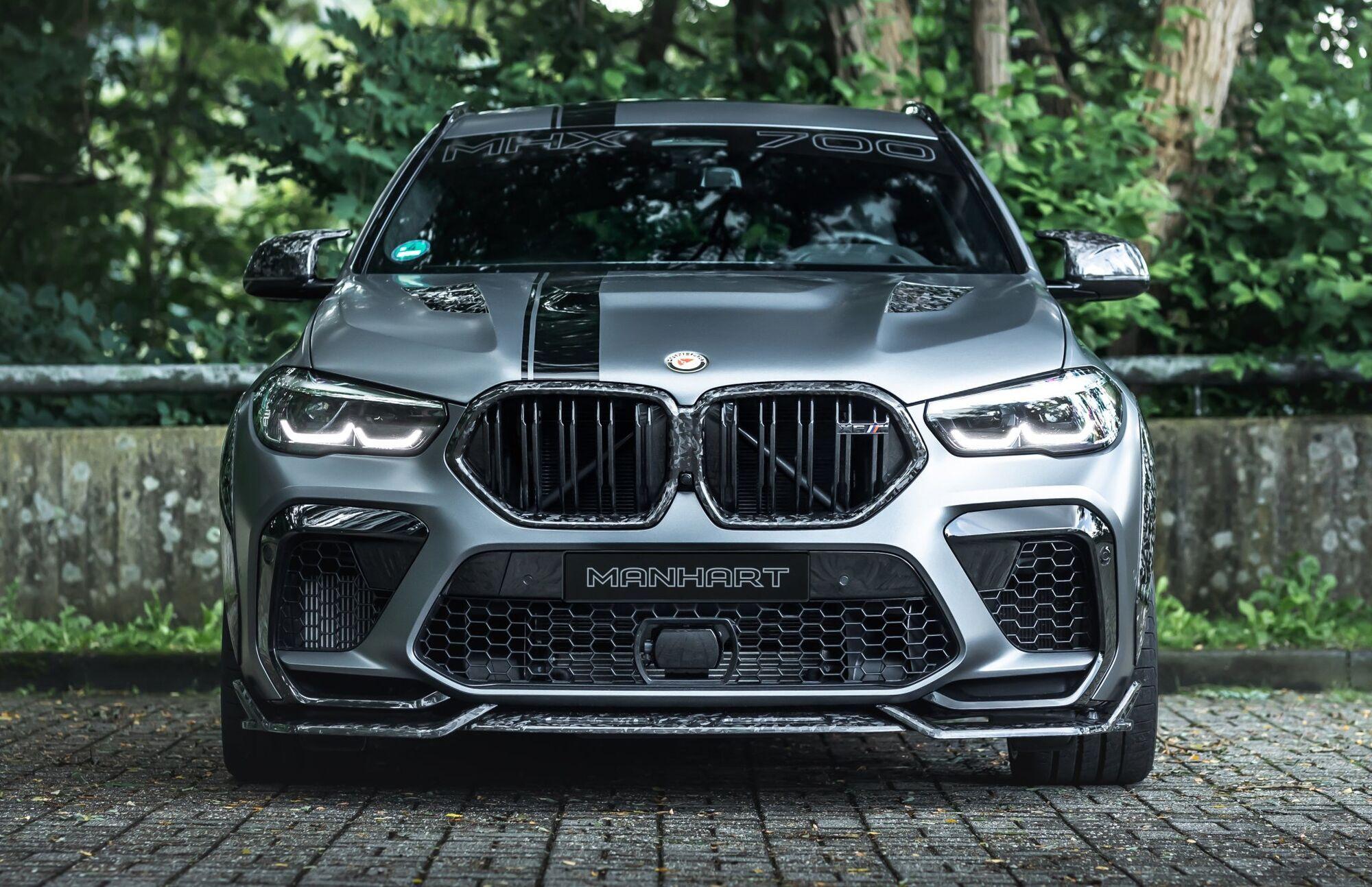 Ателье Manhart показало кроссовер BMW X6 в эффектном карбоновом обвесе