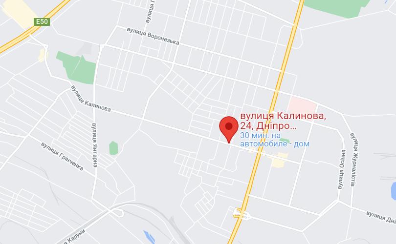 ДТП произошло на Калиновой.