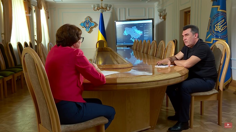 Данилов на интервью