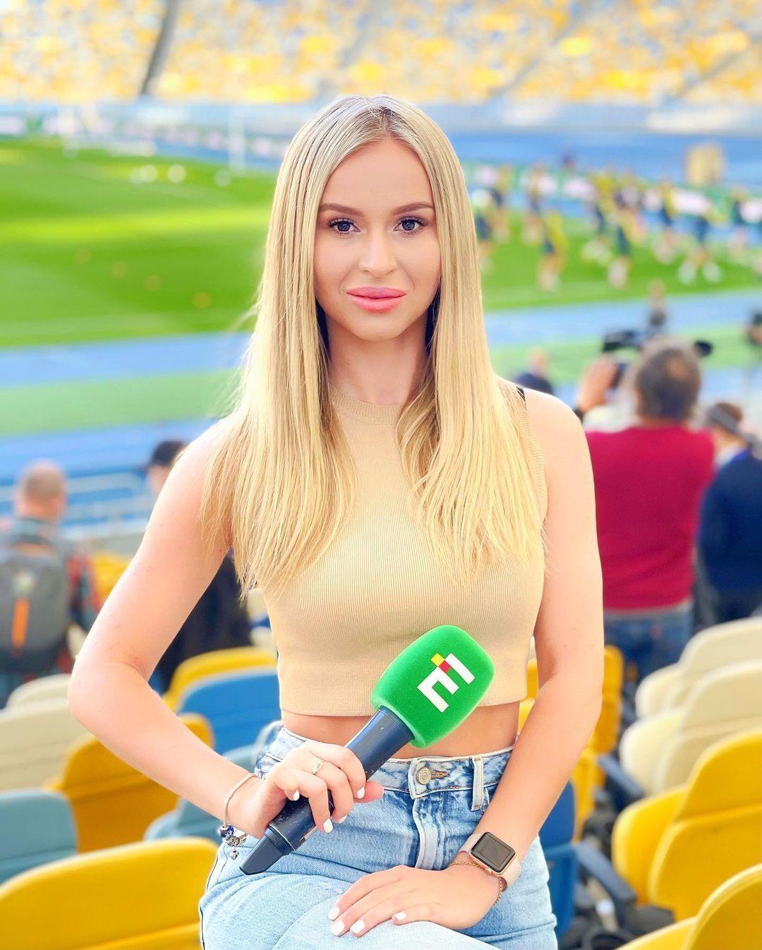 Валерія Сучкова на роботі