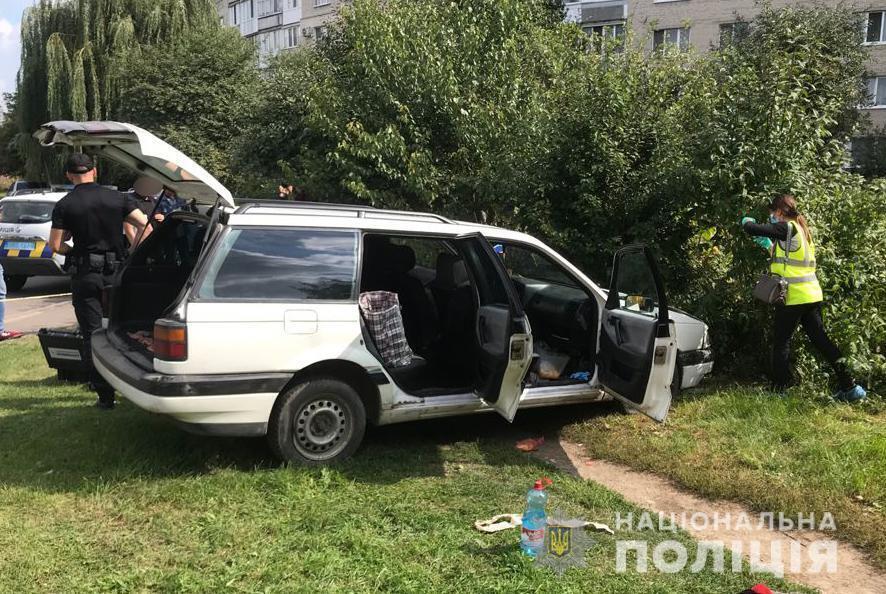 Машина убитого мужчины