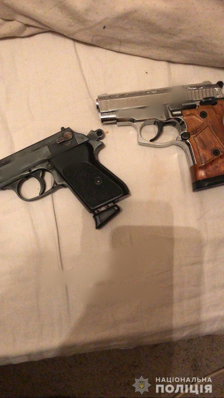 Вилучені два пістолети