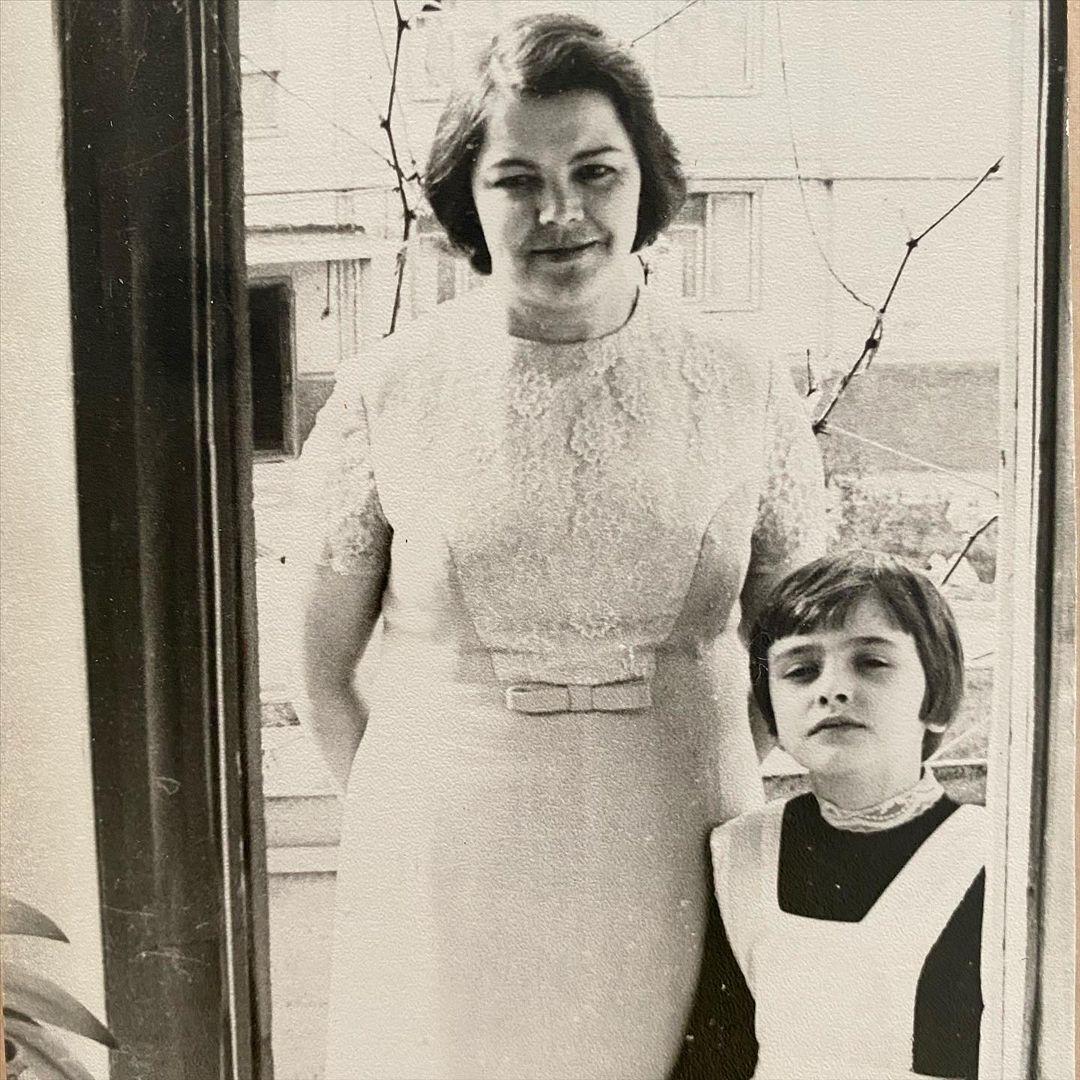 Ольга Сумська разом із мамою.