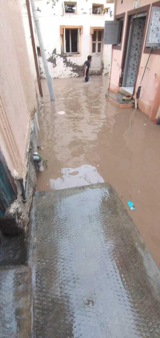 Уровень воды резко поднялся
