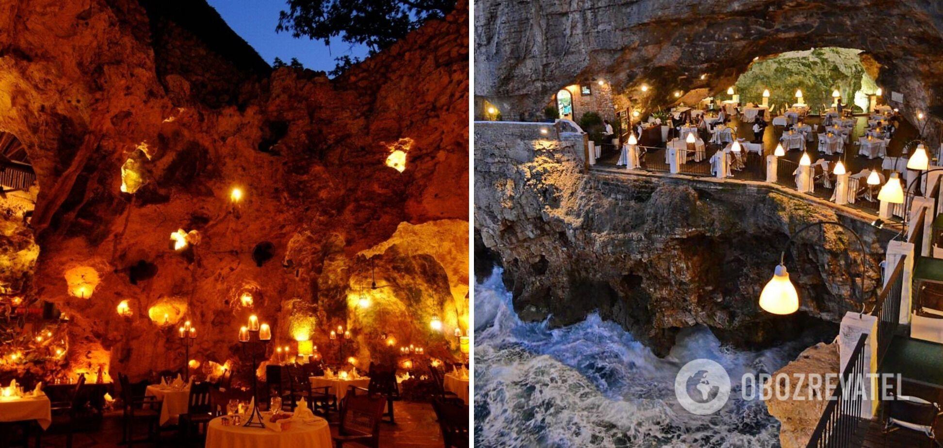 Ресторан Ali Barbour's Cave Restaurant