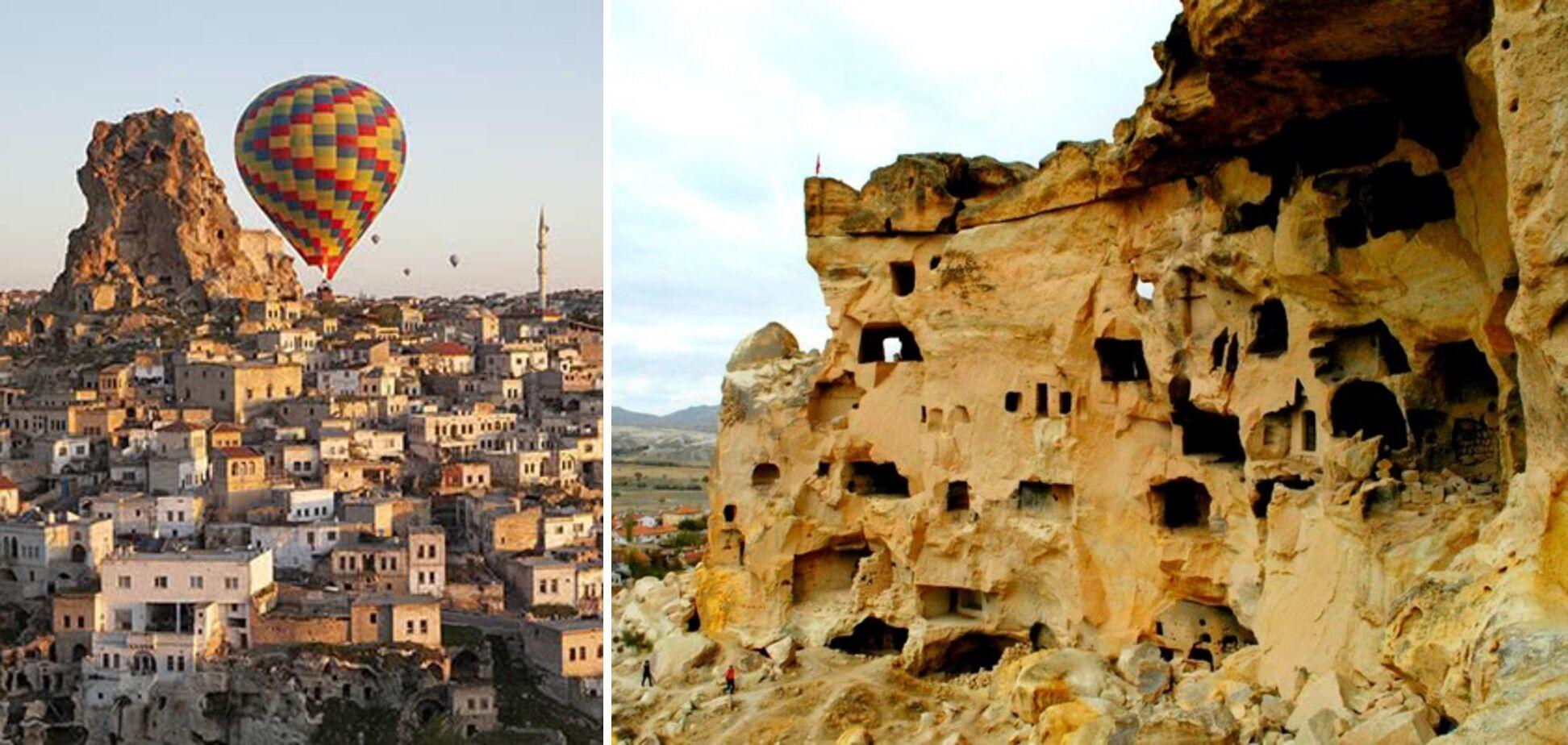 Скальные города Каппадокии мало кого оставят равнодушным.