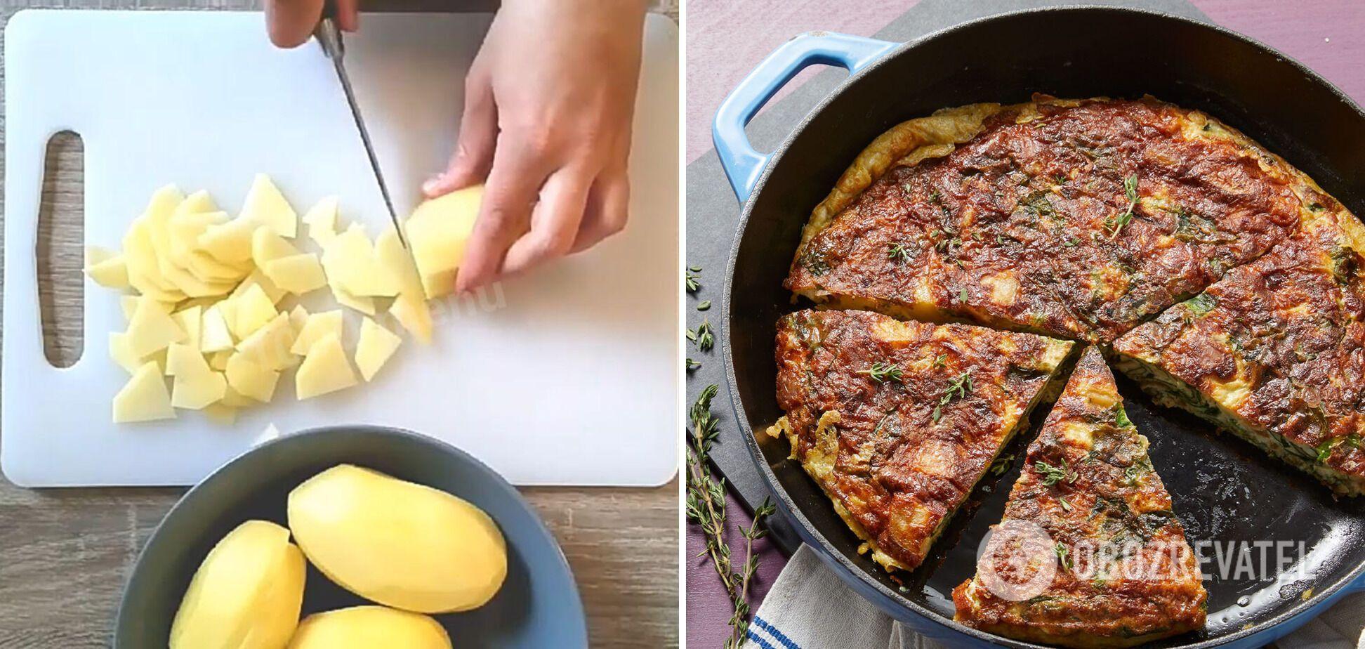 Картопляна тортилья