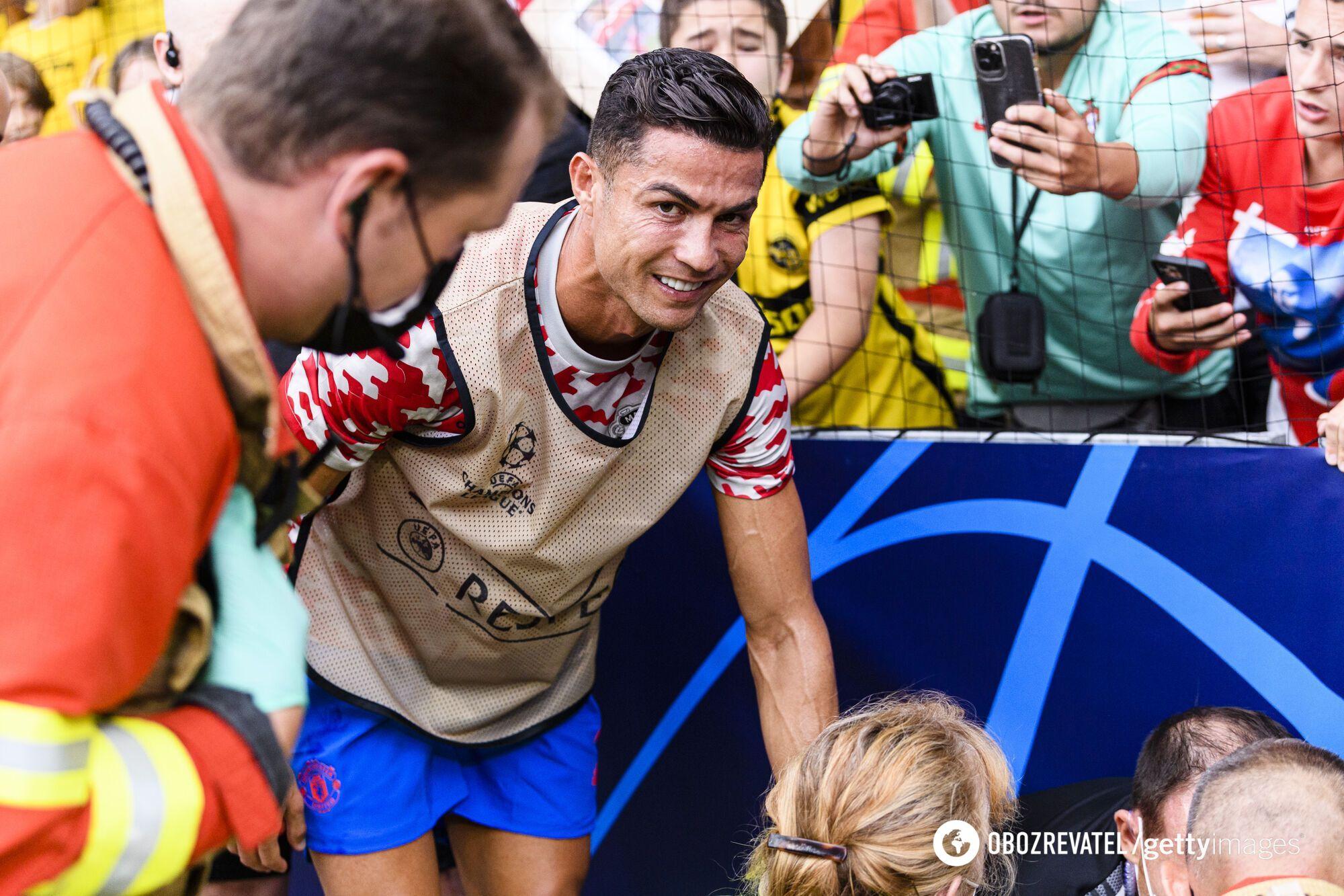 Роналду извинился перед пострадавшей