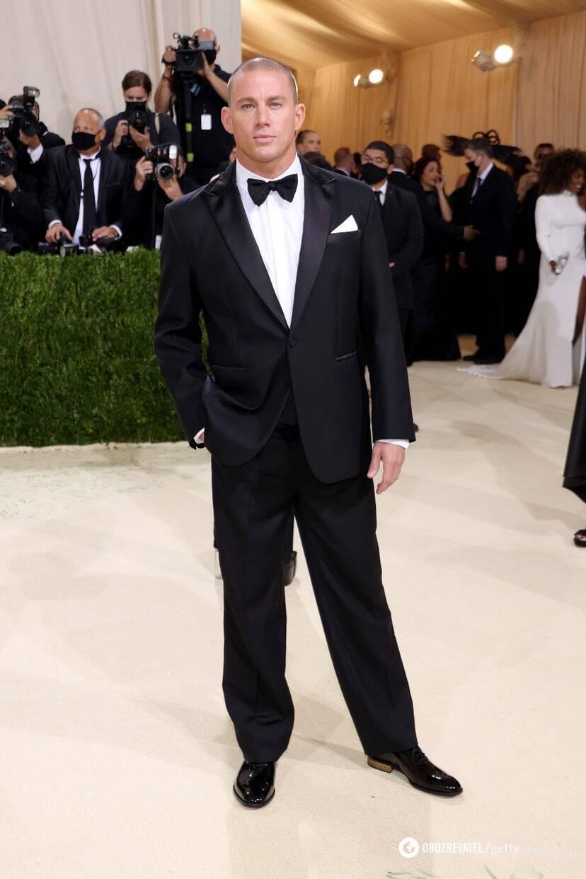 Ченнинг Татум в Versace