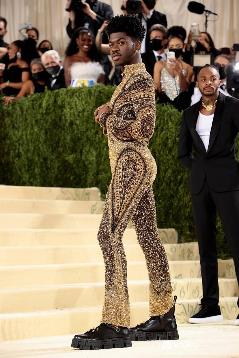 Lil Nas X в Versace