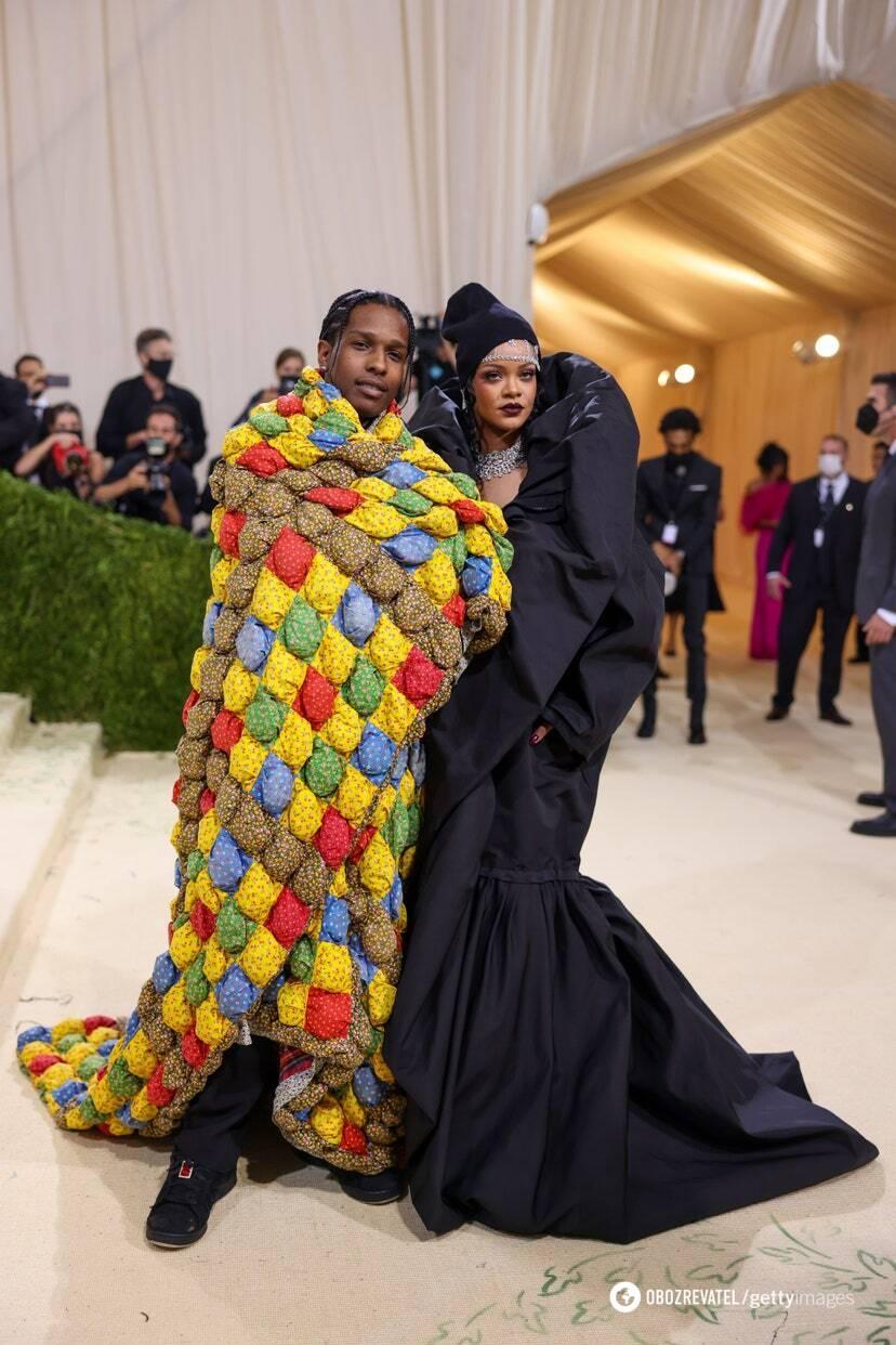 A$AP Rocky в ERL и Рианна в Balenciaga couture