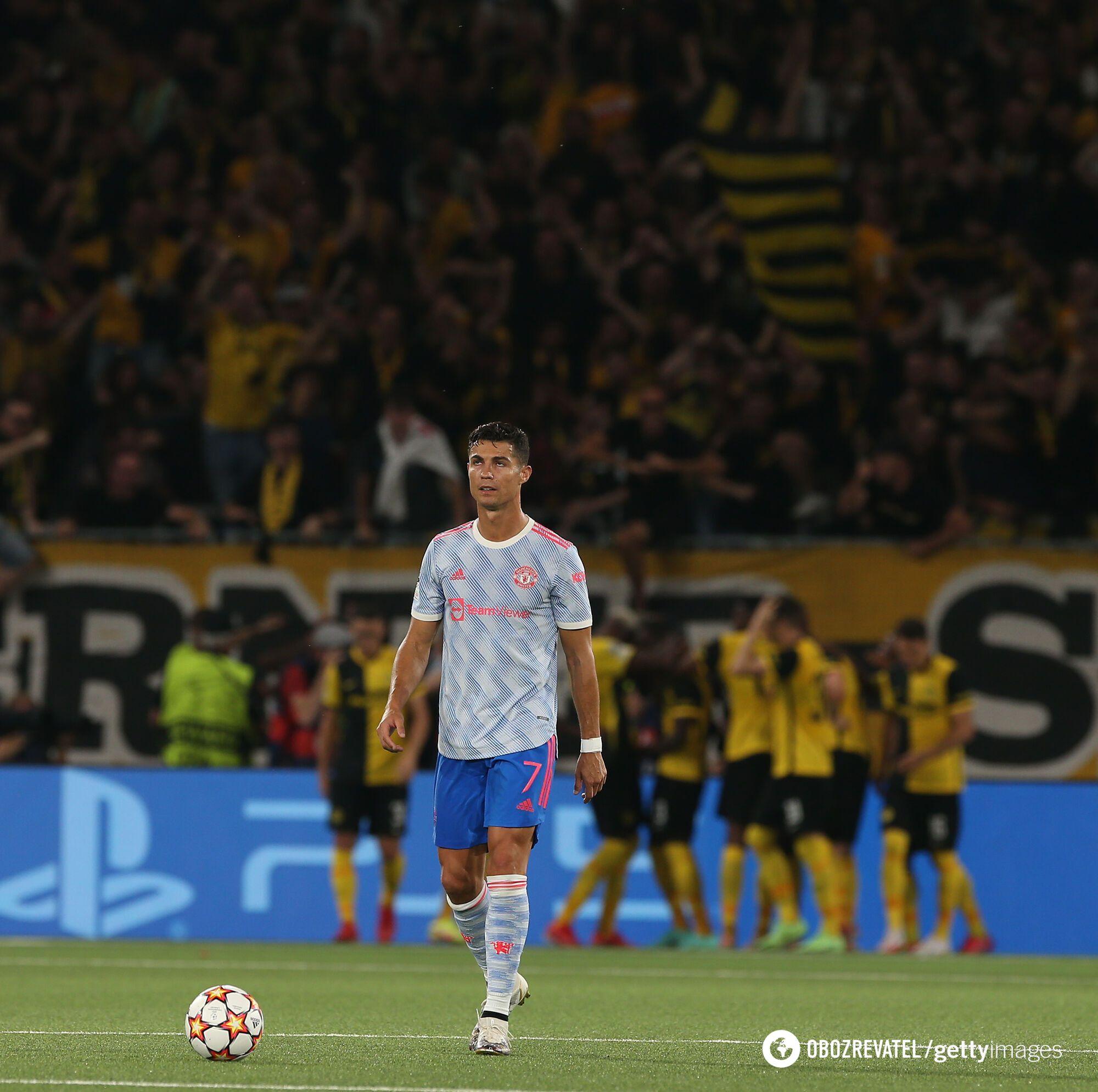 Роналду забил гол, но не добыл победу