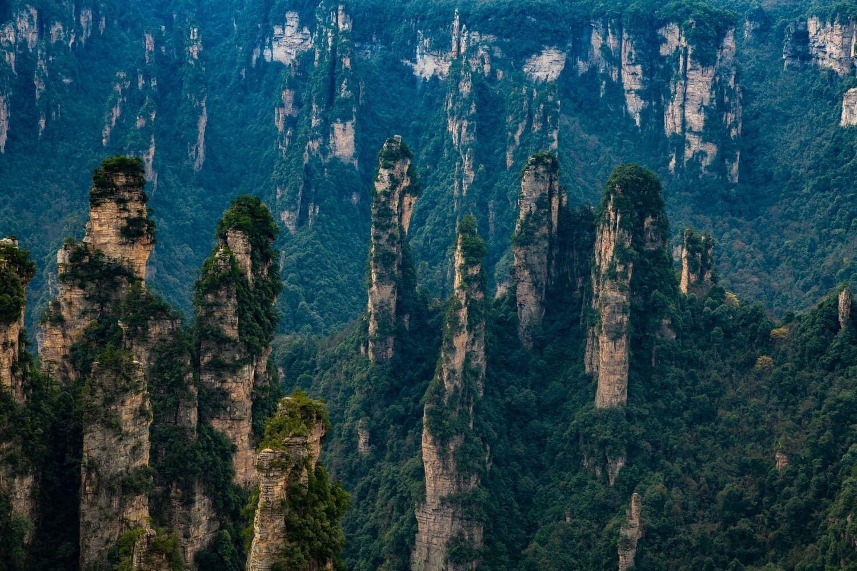Національний парк Чжанцзяцзе – одна з головних природних пам'яток у Китаї.