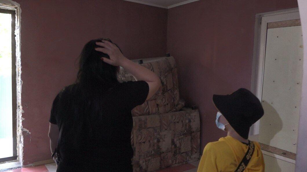 Аліна шокована тим, що зробили з її будинком