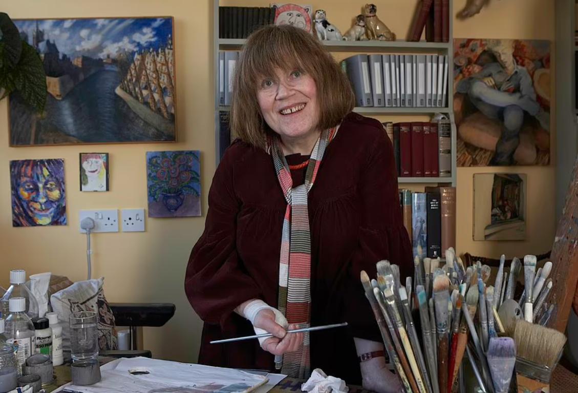 Шарлот Джонсон-Уал была художницей.